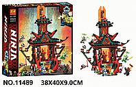 Конструктор Императорский храм Безумия LARI 11489 аналог LEGO Ниндзяго 71712