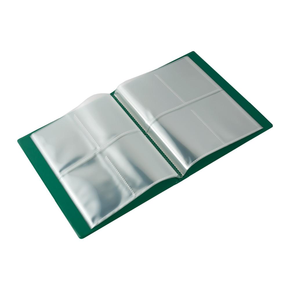Blackfire 4 Pocket Card Album - Green - фото 2