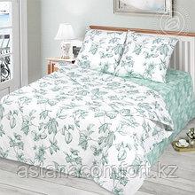 """КПБ """"Грин"""", 2х-спальный с евро-простыней, бязь."""