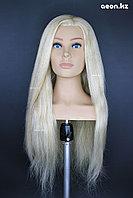 Голова-манекен AEON светло русый волос натуральный (100%) - 60 см