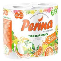 Туалетная бумага Perina Aroma Luxe 4 рулона 3 слоя