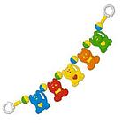 Игрушка-подвеска Stellar на коляску (в форме  забавных животных)