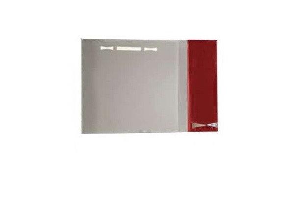 Зеркало Акватон, ДИОР, 80, правое , бело-бордовое