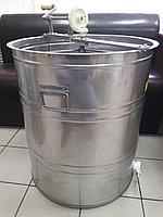 Медогонка 3х рамочная оборотная полный, нержавеющая сталь, фото 1