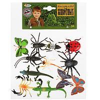 Играем вместе: Набор из 12-и Рептилий и насекомых 5см