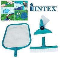 Набор для чистки бассейна {сачок, щетка, насадка-пылесос} INTEX 29056