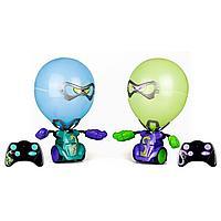 Silverlit: Боевые роботы Робокомбат Шарики (Фиолетовый,Зеленый)