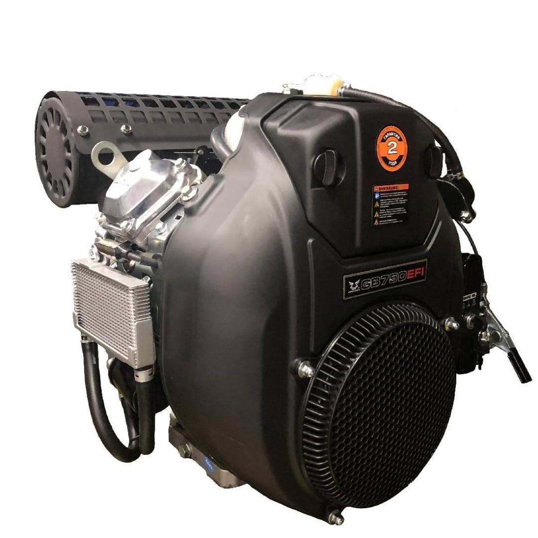 Бензиновый двигатель Zongshen GB750EFI