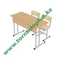 Парта и два стула ученика