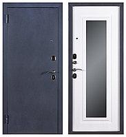 Дверь входная Ferroni Царское Зеркало Муар/Белый Ясень