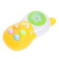 Музыкальная игрушка 'Телефон', световые и звуковые эффекты, МИКС, в пакете