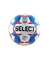 Мяч футзальный SUPER LEAGUE АМФР FIFA №4, бел/син/крас Select