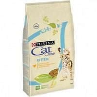 Cat Chow Kitten г корм для котят, с курицей. 15 кг