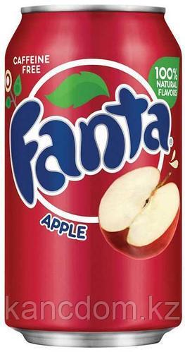 Fanta Apple красная яблоко 355 мл