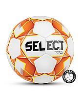 Мяч футзальный FUTSAL COPA №4, бел/оранж/жел Select