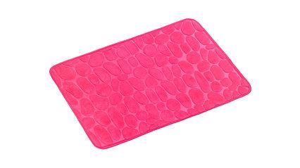Коврик для ванной Fixsen STONES GR-3204G 1-ый оранжевый 50х80 см розовый, GR-3204B