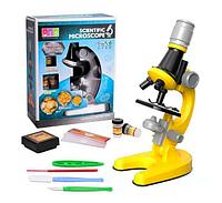 Набор для опытов с микроскопом Scientific Microscope «Юный биолог» кратность до х1200