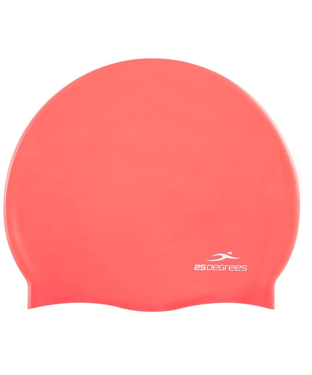 Шапочка для плавания Nuance Pink, силикон 25Degrees