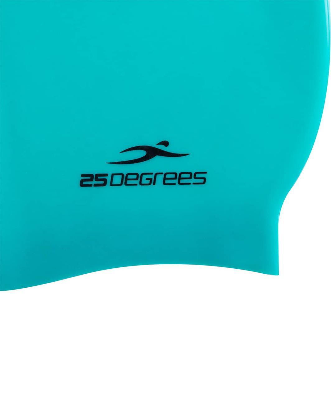 Шапочка для плавания Nuance Green, силикон 25Degrees