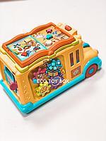 Развивающая музыкальная игрушка «Забавный автобус»