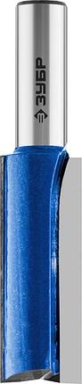 """Фреза пазовая прямая с нижними подрезателями, ЗУБР 19 x 51 мм, хвостовик 12 мм, серия """"Профессионал"""", фото 2"""
