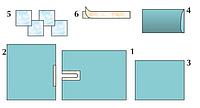 Комплект стерильный операционный одноразовый универсальный с простыней с вырезом Тип 3