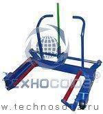 Тележка для снятия и транспортировки колес грузовых автомобилей ТМ-254