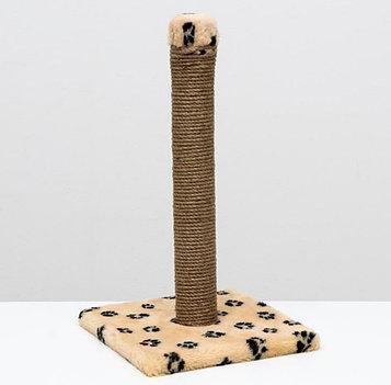 Когтеточка-столбик Лапки для кошек