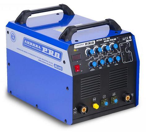 Аппарат аргонодуговой сварки AuroraPRO INTER TIG 200 PULSE (TIG+MMA) MOSFET, фото 2