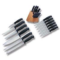 Набор ножей COLD STEEL KITCHEN CLASSICS (12 штук) + стенд