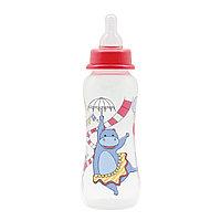Бутылочка для кормления с соской молочной 250 мл Just Lubby