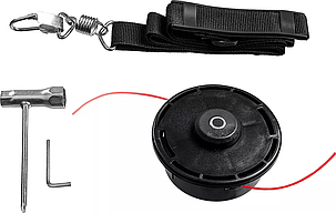 Триммер сетевой ЗУБР 1300 Вт, ш/с 38 см (ТСВ-38-1300), фото 2