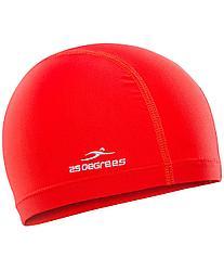 Шапочка для плавания Essence Red, полиамид, детская 25Degrees