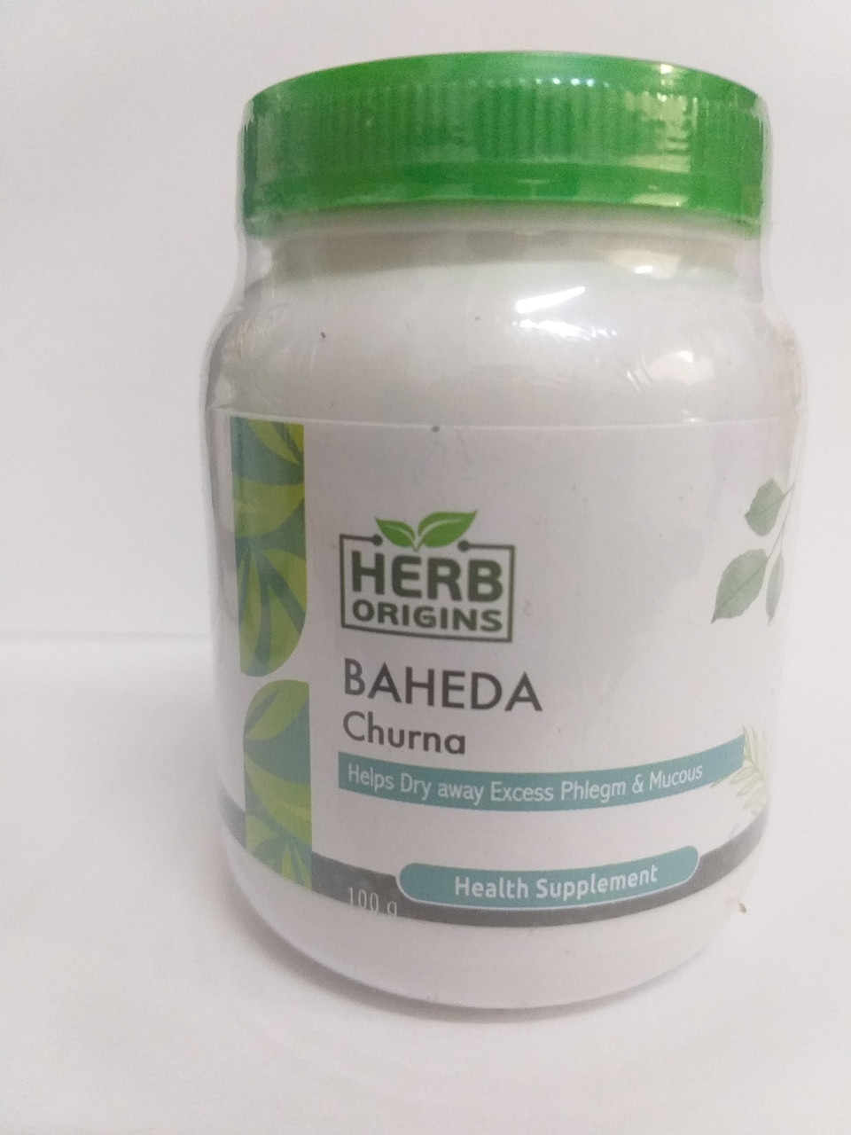Бехеда (Бибхитаки) порошок, 100 гр, Herb Origins, при простуде