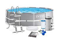 Intex 26716, каркасный бассейн 366 x 99 см Prism Frame Pool