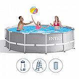Intex 26716, каркасный бассейн 366 x 99 см Prism Frame Pool, фото 3