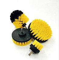 Комплект из 4-х щеток для чистки с креплением для дрели CLEANDBS