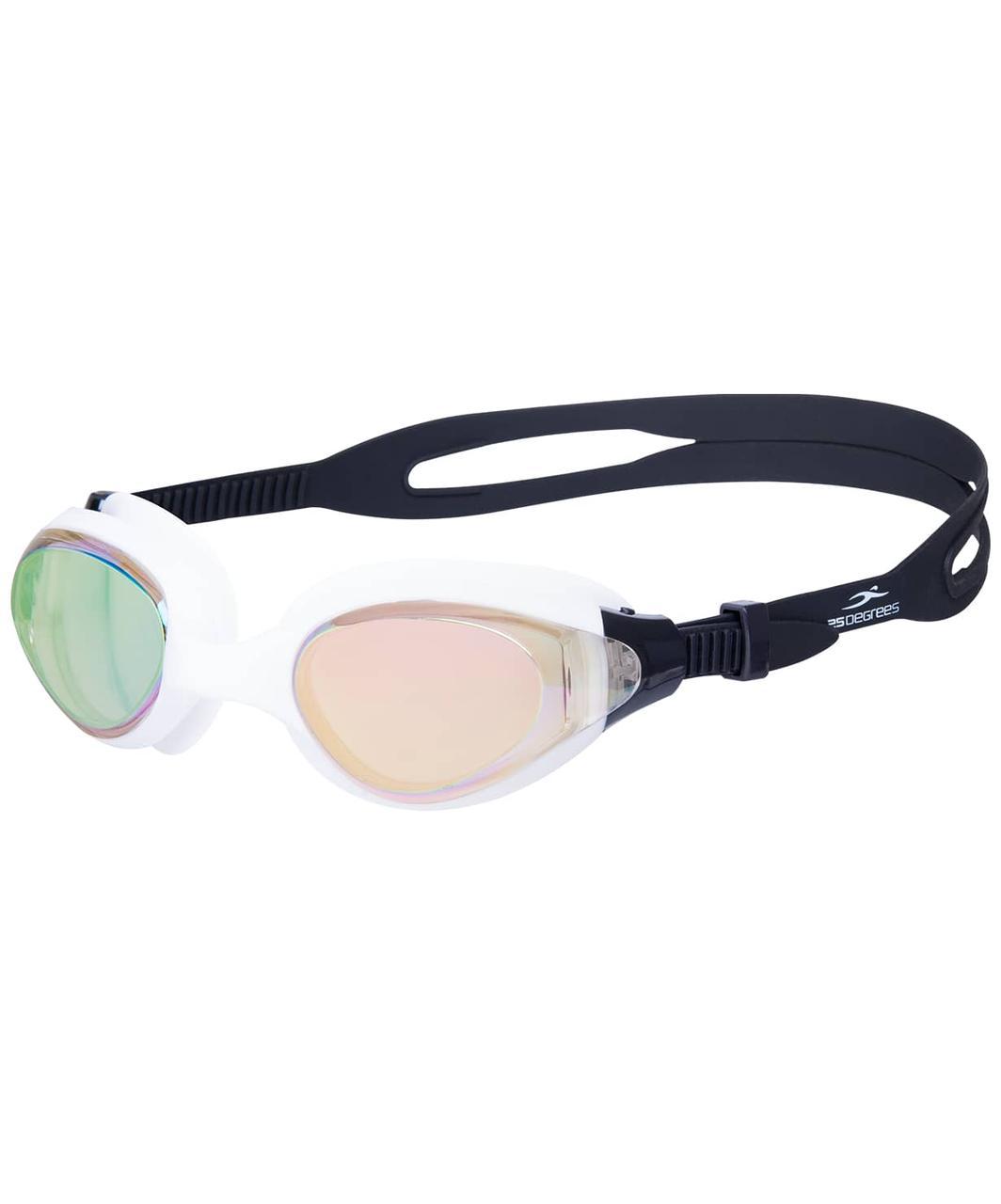 Очки для плавания Prive Mirrored White 25Degrees