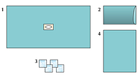Комплект стерильный операционный одноразовый для лапаротомии