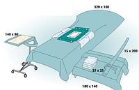 Комплект стерильный операционный одноразовый для лапароскопии