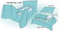 Комплект стерильный операционный одноразовый для лапароскопии абдомино-перинатальной