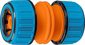 """Муфта универсальная TM-U, GRINDA Ø 1/2"""" х 3/4"""", ударопрочный пластик с TPR (8-426447)"""