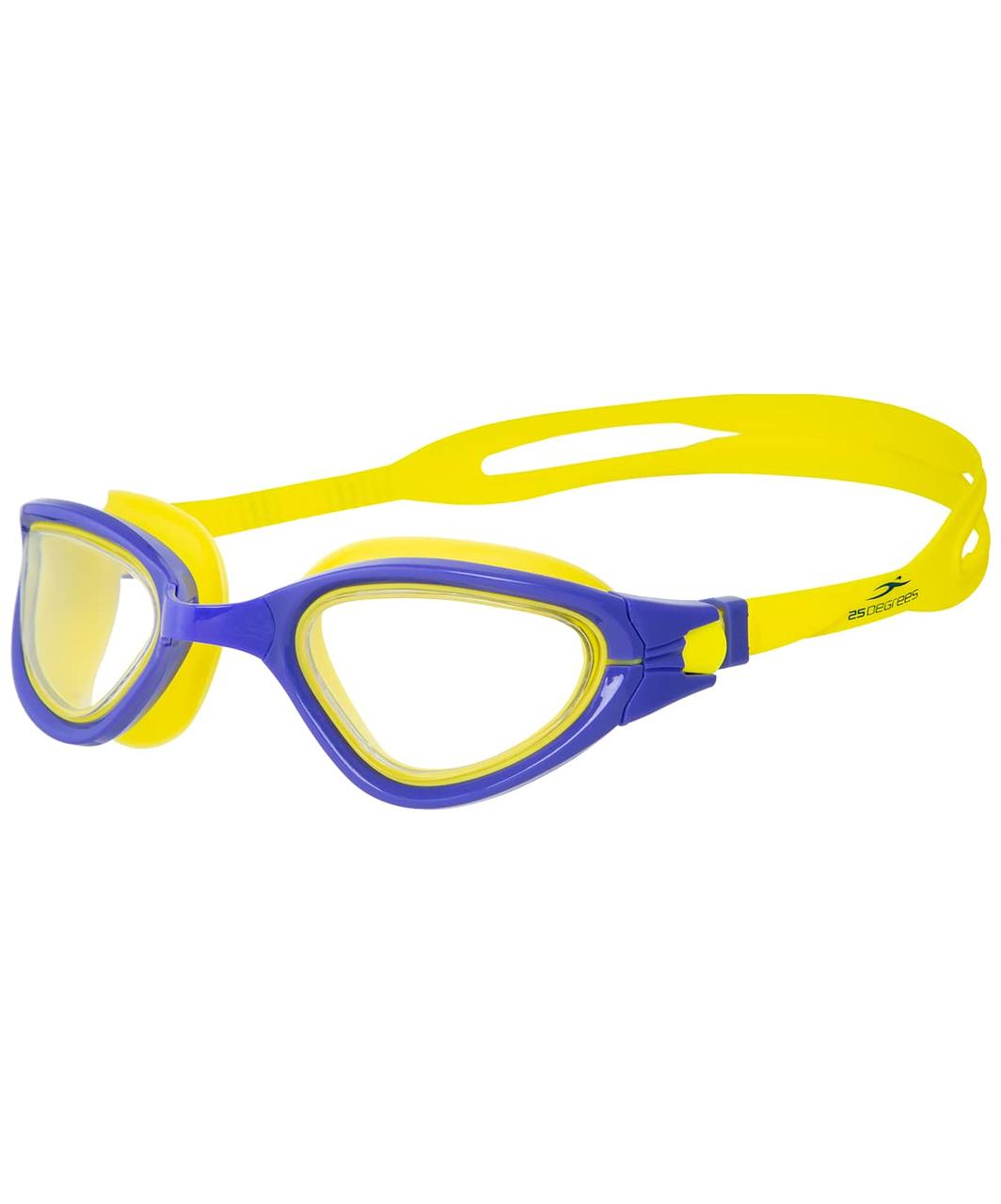 Очки для плавания Azimut Purple/Yellow 25Degrees