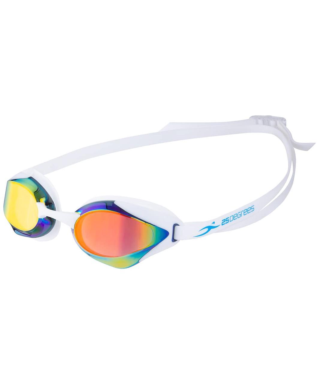 Очки для плавания Infase Mirrored White 25Degrees
