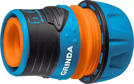 """Соединитель быстросъёмный для шланга TL-12, GRINDA 1/2"""", с запирающим механизмом, из ударопрочного пластика с, фото 2"""