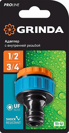 """Адаптер штуцерный TI-U, GRINDA 1/2"""" x 3/4"""", с внешней резьбой, серия """"PROLine"""" (8-426405_z01), фото 2"""