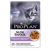 Pro Plan Junior 85 гр паучи для котят с индейкой в соусе