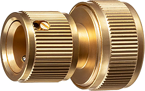 """Соединитель быстросъёмный для шланга BC-34, GRINDA 3/4"""", из латуни, серия """"PROLine"""" (8-426126_z02)"""