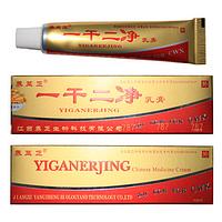 Китайский крем от псориаза Yiganerjing