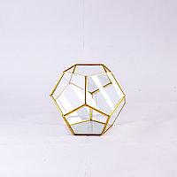Ваза (флорариум), кристалл, стекло, подвесной